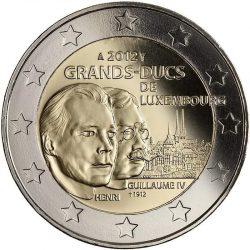 2 евро, Люксембург (100 лет со дня смерти Великого герцога Люксембургского Вильгельма IV)