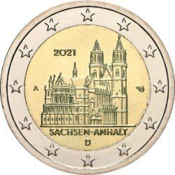 2 евро, Германия (Саксония-Ангальт)