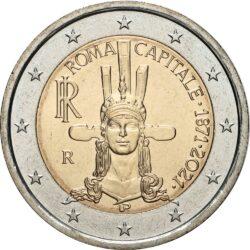 2 евро, Италия (150 лет объявления Рима столицей Италии)