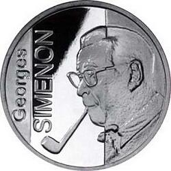10 евро, Бельгия (100 лет со дня рождения Жоржа Сименона)