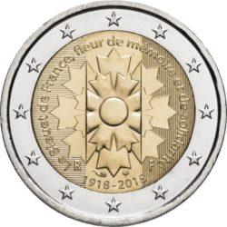 2 евро, Франция (Василёк)