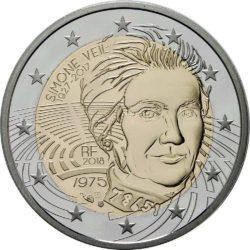 2 euro, France (Simone Veil)