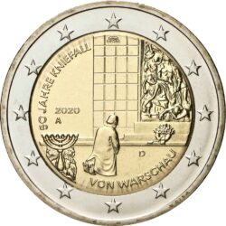 2 евро, Германия (50-летие коленопреклонения в Варшаве)