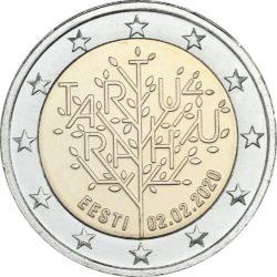 2 евро, Эстония (100-летие Тартуского мирного договора)
