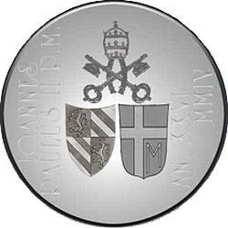 5 евро, Ватикан (150 лет догме о Непорочном зачатии Девы Марии)