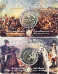 Бельгийская монета в coincard