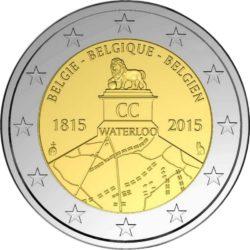 2 евро, Бельгия (200 лет битве при Ватерлоо)