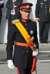 Великий герцог Анри в форме главнокомандующего