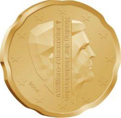 20 евроцентов Нидерландов (тип 2)
