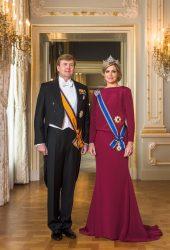 Король Нидерландов Виллем-Александр и королева-консорт Максима