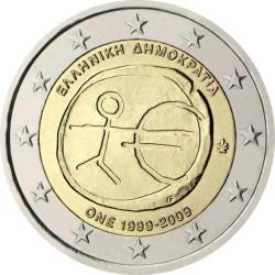 2 евро, Греция (10 лет Экономическому и валютному союзу)