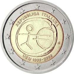 2 евро, Италия (10 лет Экономическому и валютному союзу)