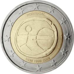 2 евро, Португалия (10 лет Экономическому и валютному союзу)