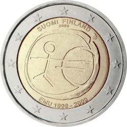 2 евро, Финляндия (10 лет Экономическому и валютному союзу)
