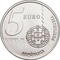 5 евро, Португалия (150 лет португальским почтовым маркам)