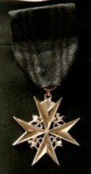 Мальтийский крест - популярная символика и в виде наград