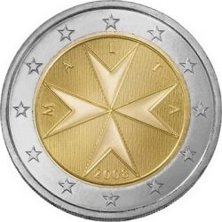 2 евро, Мальта