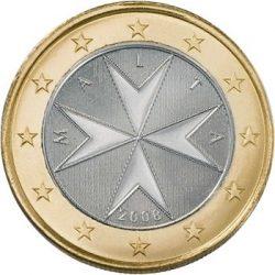 1 евро, Мальта