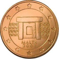 1 евроцент, Мальта