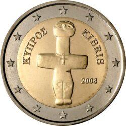2 евро, Кипр