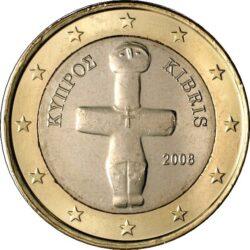 1 евро, Кипр