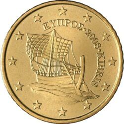 10, 50 eurocents Cyprus