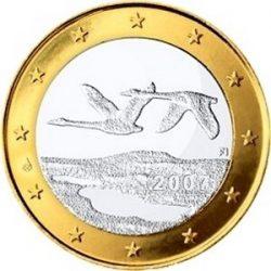 1 евро Финляндии (тип 2)
