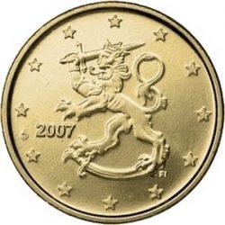 1 евроцентов Финляндии (тип 2)