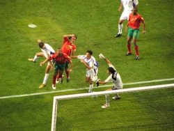 Победный гол, забитый Ангелосом Харистеасом