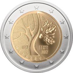 2 евро, Эстония (Дорога Эстонии к независимости)