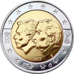 2 евро, Бельгия (Бельгийско-Люксембургский экономический союз)
