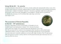 2 euro Slovakia 2014. Numismatic Cover