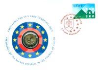 2 euro Slovakia 2016. Numismatic Cover