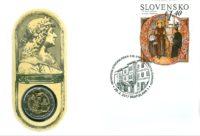 2 euro Slovakia 2017. Numismatic Cover
