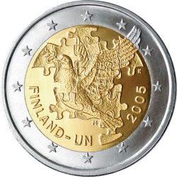 2 евро, Финляндия (Организация Объединённых Наций)