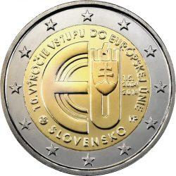 2 евро, Словакия (10 лет вступлению Республики Словакия в Евросоюз)