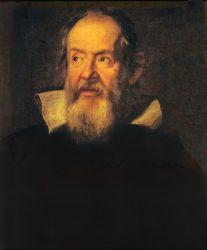 Портрет Галилео Галилея работы Юстуса Сустерманса (1636 г., Галерея Уффици, Флоренция)