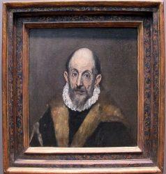 «Портрет старика» (предположительно автопортрет; 1595—1600. Метрополитен музей, Нью-Йорк)