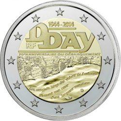 2 евро, Франция (70 лет высадке в Нормандии)