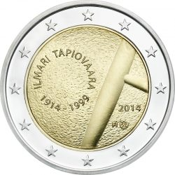 2 евро, Финляндия (100 лет со дня рождения Илмари Тапиоваара)