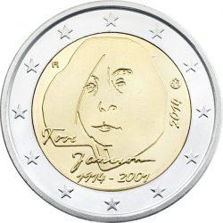 2 евро, Финляндия (100 лет со дня рождения Туве Янссон)