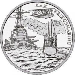 20 евро, Австрия (Фрегат SMS «Вирибус Унитис»)