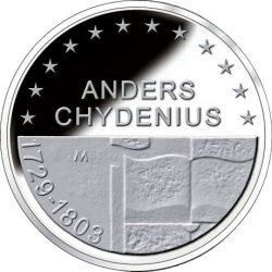 10 евро, Финляндия (200 лет со смерти Андерса Чюдениуса)