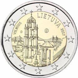 2 евро, Литва (Вильнюс)