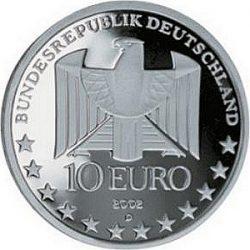 10 евро, Германия (100 лет метро в Германии)