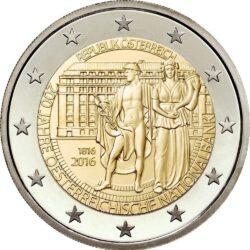 2 евро, Австрия (200-летие Национального банка Австрии)