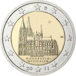 2 евро, Германия (Северный Рейн-Вестфалия)