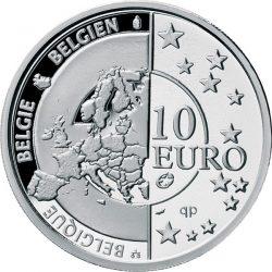 10 евро, Бельгия (60 лет мира и свободы в Европе)