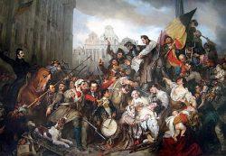 Бельгийская революция 1830 года (Egide Charles Gustave Wappers, 1834, Музей древнего искусства, Брюссель)