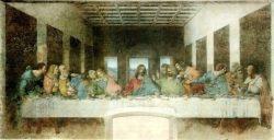 Фреска «Тайная вечеря» (Леонардо да Винчи, 1495—1497, Санта-Мария делле Грацие, Милан)